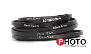 Step Up Filter Ring 37-43mm