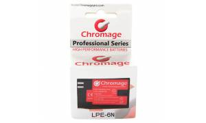 Chromage LP-E6N Battery for Canon DSLRs