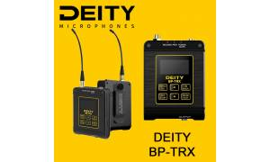 Deity Microphones BP-TRX Compact Microphone Recorder and Wireless Transceiver with Timecode I/O (2.4 GHz)