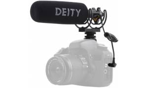 Deity Microphones VMic D3 Pro Supercardioid On-Camera Shotgun Microphone with Rycote Lyre Suspension