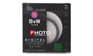 B+W 37mm UV-HAZE MRC NANO XS-P Filter
