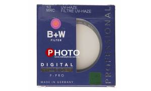 B+W 43mm UV-HAZE MRC Nano XS-P Filter