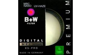 B+W 46mm UV-HAZE MRC Nano XS-P Filter