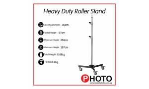 Lumia Heavy duty stand with Roller Base 6860 (Similar to Avenger)