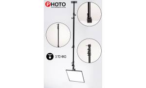 Lumia Extension Rod with Spigot up to 180cm for Studio Mounting Lights and Microphones stand
