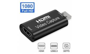 Audio Video Capture card HDMI to USB 2.0 FULL HD 1080P Capture Device Cam Link to DSLR Action Cam Computer
