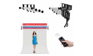 Nanguang Motorised backdrop Solution for Wall and Ceiling Mount Roller System for 3-4 backdrops CN-3RES CN-4RES