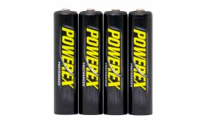 Powerex Precharged Rechargeable Ni-MH 1000mAh AAA Batteries