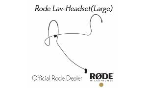 Rode Lav-Headset Headset mount for Lavalier Microphones Adult Size