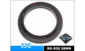 JJC Reverse Ring for Macro photography For Canon Mount 58mm