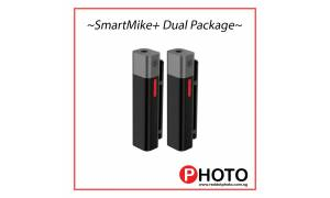 SmartMike+ Dual Package (True Wireless Stereo Mic for Content Creators) - Black