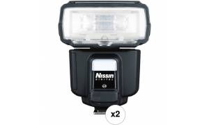 Nissin i60A Speedlight with 2.4Gz Radio Receiver (For m4/3)