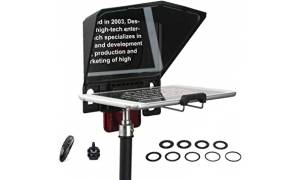 Desview T2 Small Portable Teleprompter for Smartphone and Camera