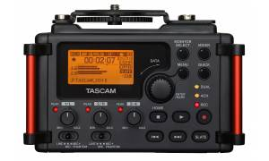 Tascam DR60D mkII 4-Channel Portable Recorder for DSLR