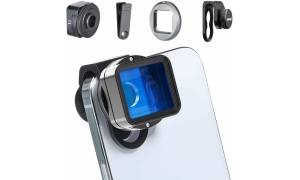 ULANZI 1.55XT Anamorphic Lens Wide Video Movie Film Maker for iPhone Smartphone Wide Angle Lens