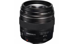 YongNuo 100mm f/2 Lens (For Canon EF/EFS mount)