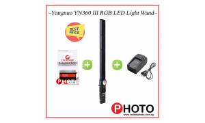 Yongnuo YN360 III RGB LED Light Wand (Add on Battery and Charger)