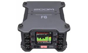 Zoom F6 6-Input 14-Track Multitrack Field Recorder