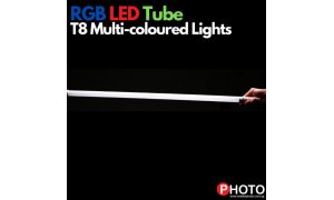 RGB LED Tube T8 (with Remote and Holder)